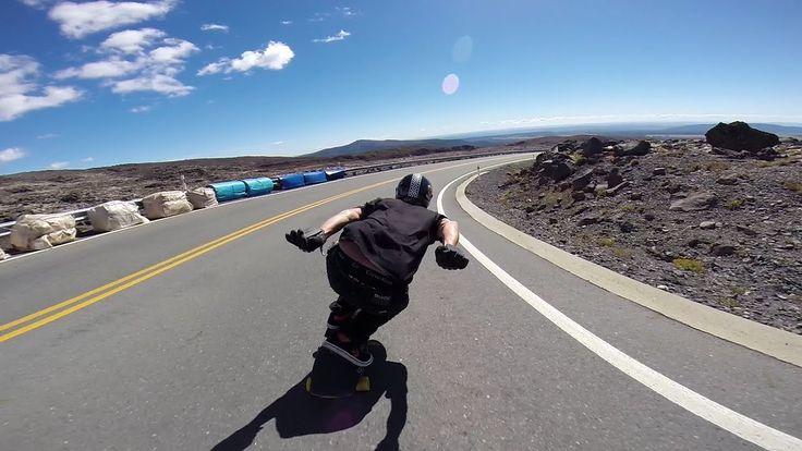 get crunchie - live long Longboarding: Mt Ruapehu Freeride