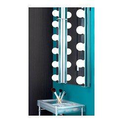 IKEA - LEDSJÖ, Lampe murale à LED, , La source lumineuse à LED consomme près de 85% d'électricité en moins et dure 20 fois plus longtemps qu'une ampoule à incandescence.Émet une lumière uniforme, idéale pour éclairer un miroir et un lavabo.Installé de part et d'autre d'un miroir, ce luminaire produit l'éclairage idéal, sans ombres, pour réaliser un maquillage parfait ou bien se brosser les dents.