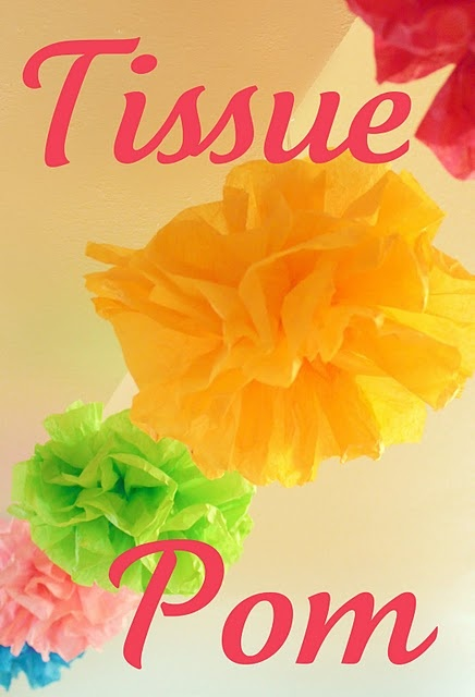 how to make tissue paper pom poms balls Learn how to make tissue paper pom poms with these easy step by step instructions.