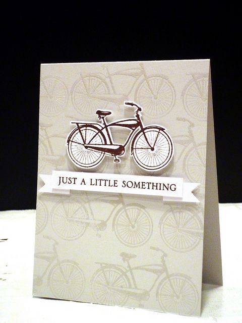 Love the simplicity of this card, and the colour! - A Little Something by Pamela, Fishy Design