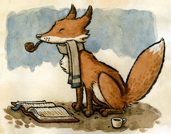 C'est ne pas une fox : Zack Rock's Illustration Blog