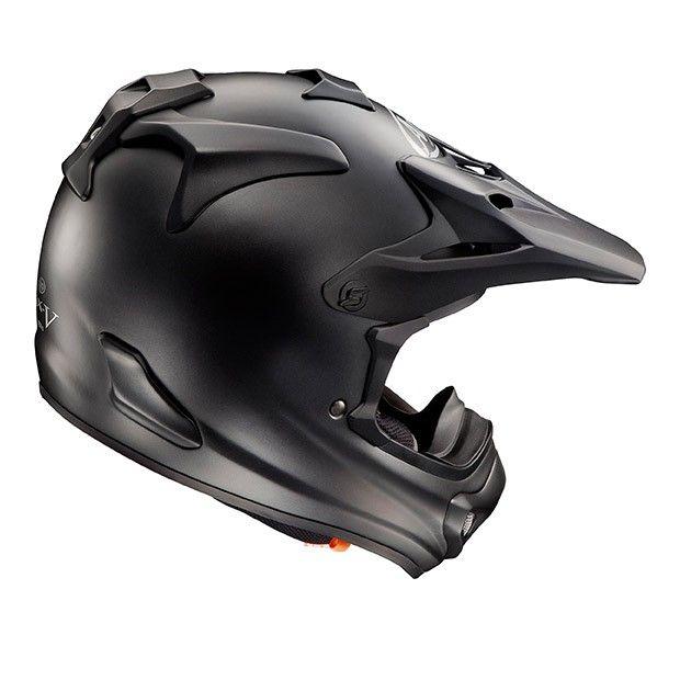 #Arai #MX-V #Black #Matte #Motocross #Helmet Buy yours on www.helmade.com