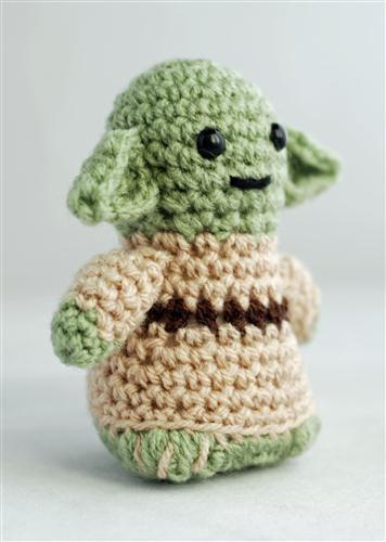 Yoda en crochet aww!