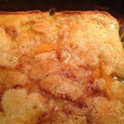 Quick and Easy Peach Cobbler - Allrecipes.com