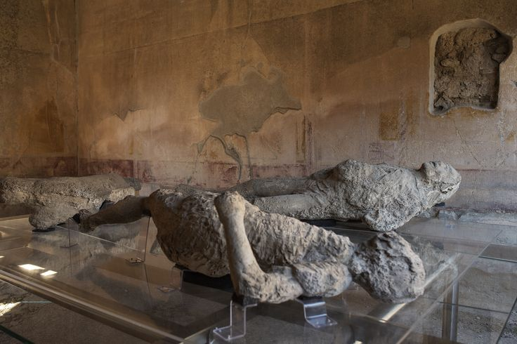 I calchi conservati nella splendida Casa di Sirico, a Pompei. © Anna Monaco (@annafdf) - Campaniasuweb