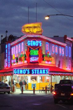 The World Famous Cheesesteak Philadelphia,, PA
