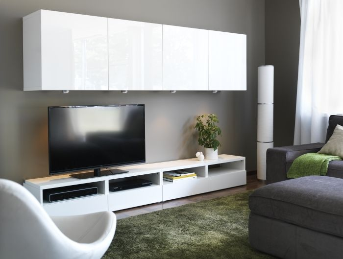 10 images about ikea tv on pinterest eclectic living - Ikea tv wand ...