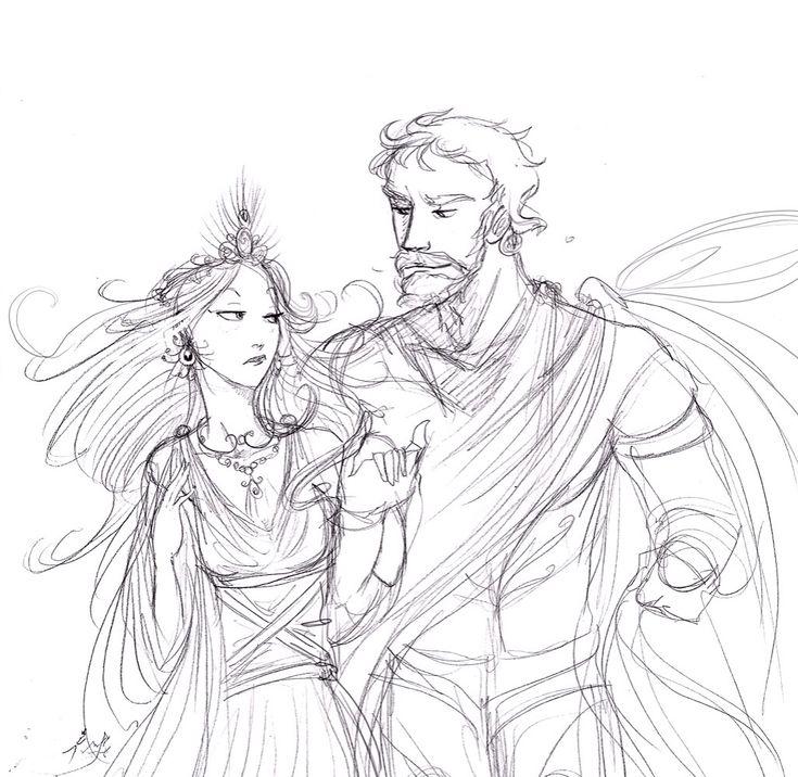 Zeus and Hera by Arbetta