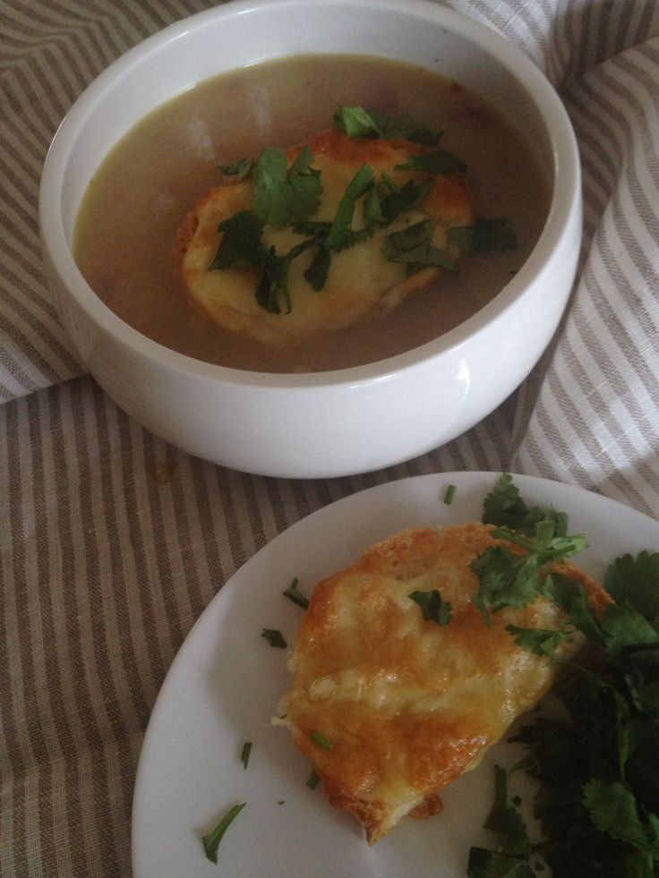 French onion soup - Thermomix