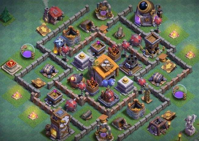 12 Best Builder Hall 6 Base Links Anti 1 Stars 4000 In 2020 Layout Design Clash Of Clans Hack Layout