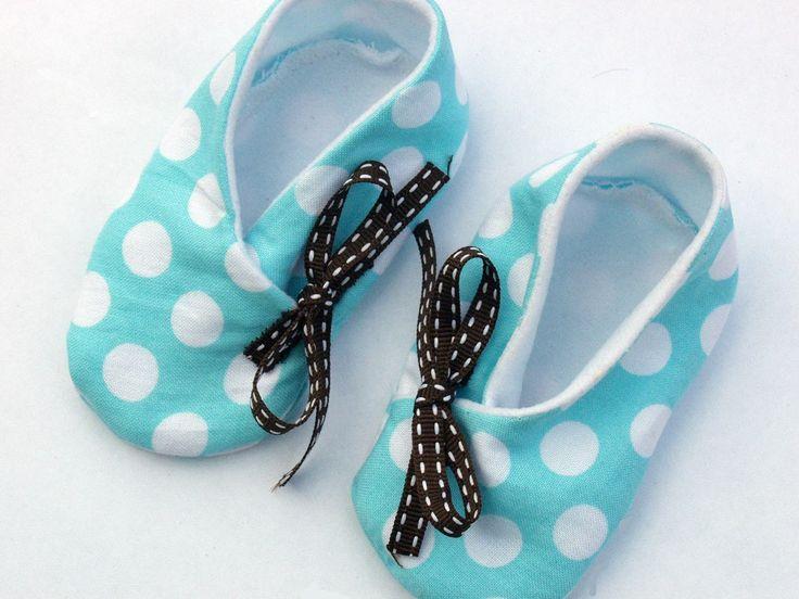 Free Kimono Baby Bootie Shoes Pattern