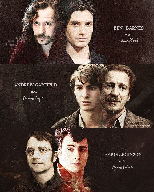 marauders harry potter