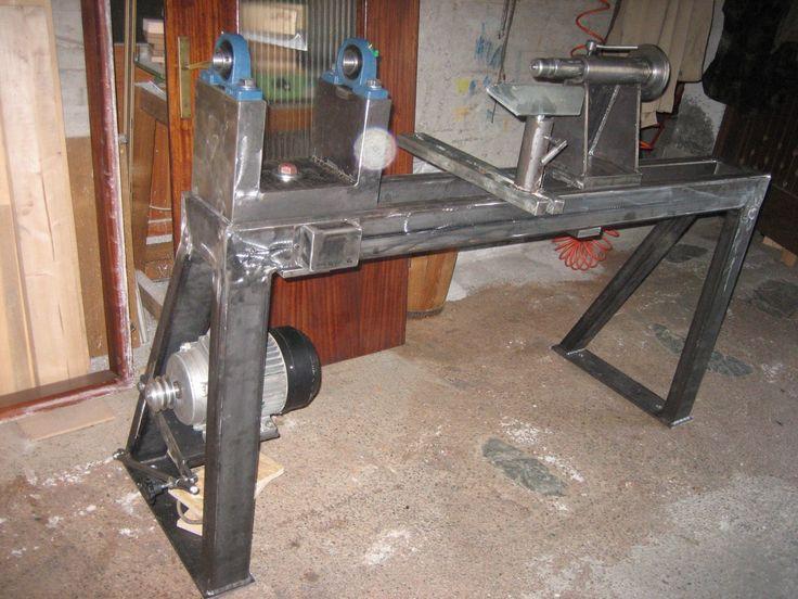 Construction Artisanal Wood Lathe
