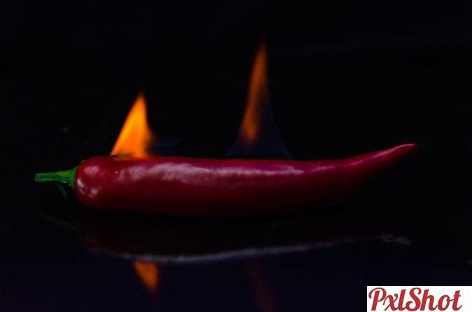 Hot Pepper | Un singur fruct sau leguma - PxlShot.ro