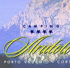 Camping Arutoli, à Porto Vecchio en Corse du sud, camping et bungalows