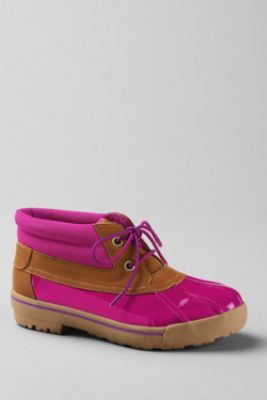 Girls' Karla Patent Boots from Lands' End... Kids size, but they fit. SO CUTE.
