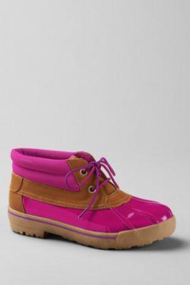 Cute!!! School Uniform Girls' Karla Patent Boots from Lands' End