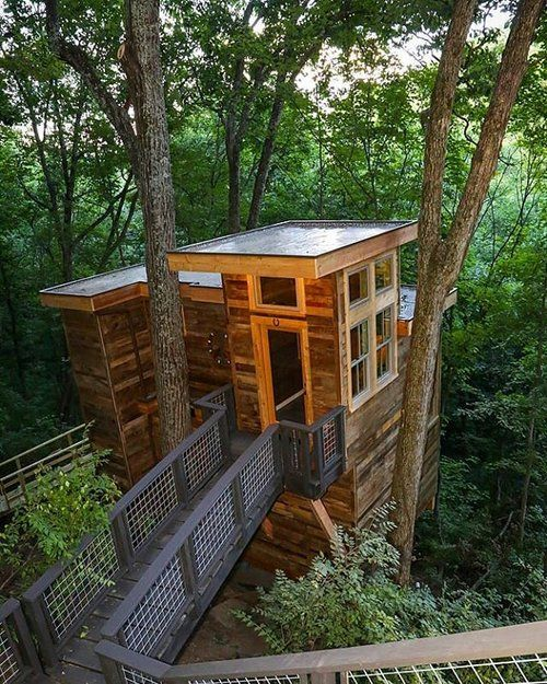 What Better Place For A Creative Studio Than Up In The Trees? Thinking Of  Our