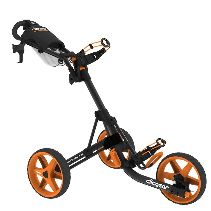 CLIC GEAR - CHARIOT CLICGEAR 3.5 ORANGE/04 - Chariot de golf manuel