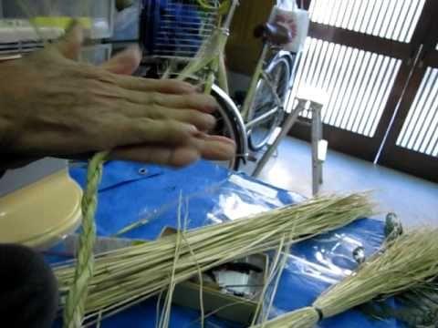 しめ縄の作り方!わらで簡単に作るコツ、工程を動画で解説!紙垂(しで)の作り方と飾り方   女性らしさ