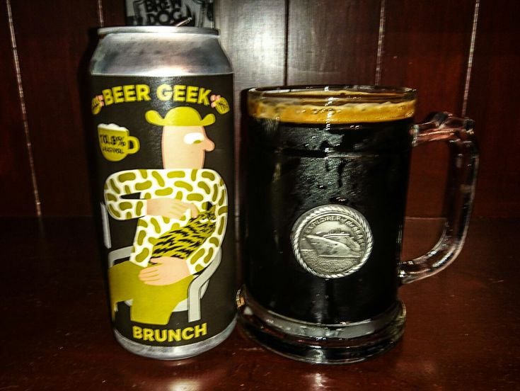 Beer Geek Brunch, Imperial Stout with Coffee, 10.9%. Mikeller Brewing, San Diego USA. A beautiful beer, with rich chocolate tones!