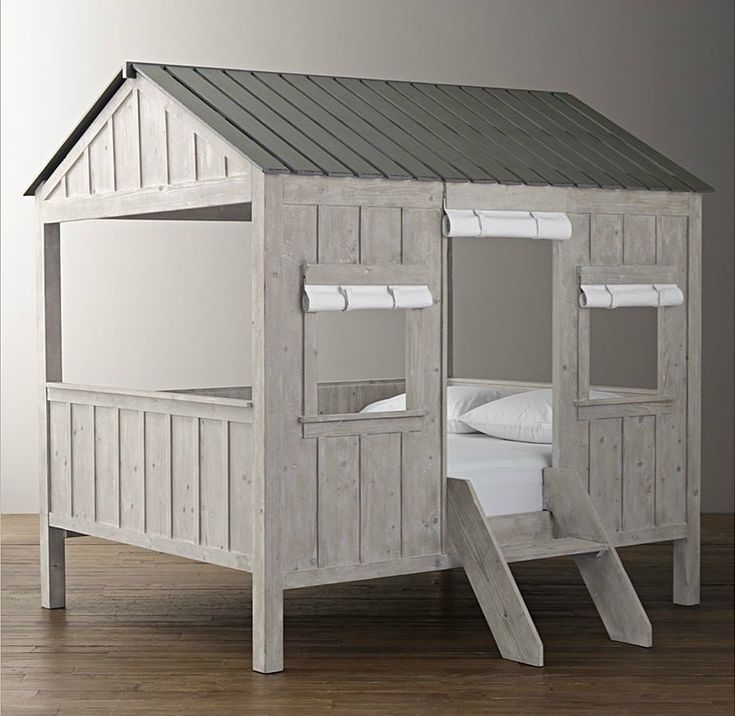 Kids Cabin Bed by Restoration Hardware