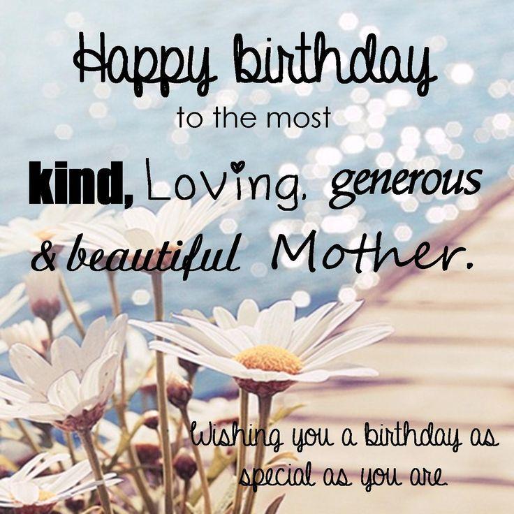 25+ Best Happy Birthday Mom Quotes On Pinterest