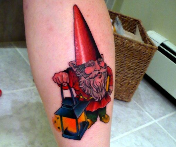 17 best images about tattoos dude on pinterest colorful for Garden gnome tattoo designs