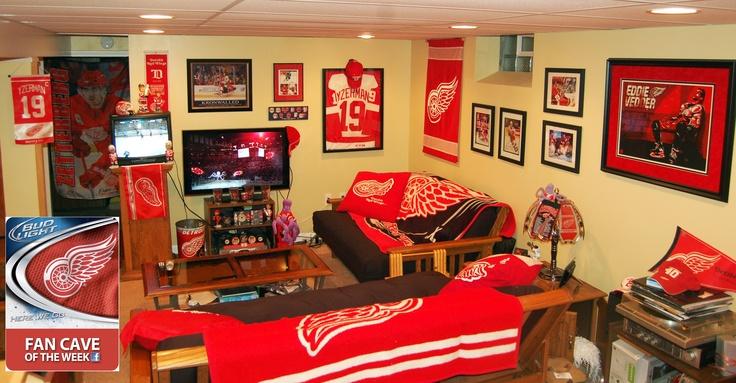 Man Cave Hockey Room : Hockey man caves that every fan wants hpc