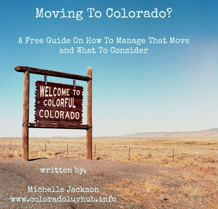 Moving to Colorado? I get a lot of questions about moving to Colorado. In fact, I got so many that I decided to write a very simple guide book with things to consider if you're planning a move. Colorado is a great state, but it's important to consider the pros and cons. Hope it helps!