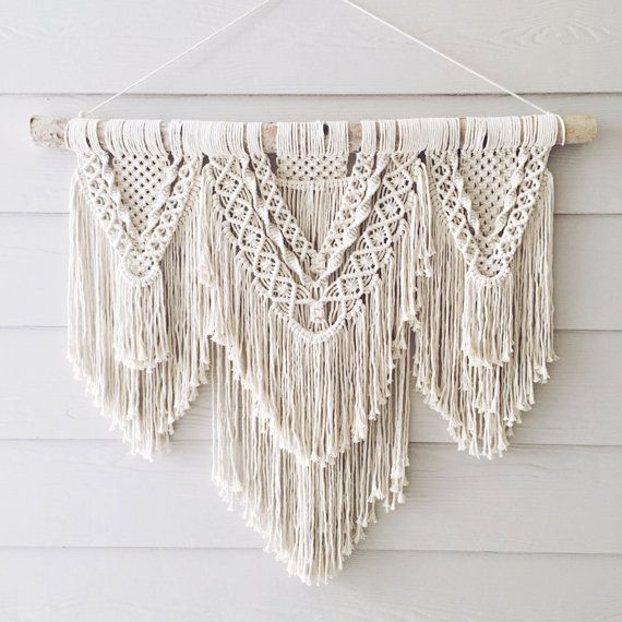 beauty extra large macrame wall hanging by wovenwhale on on macrame wall hanging id=55917