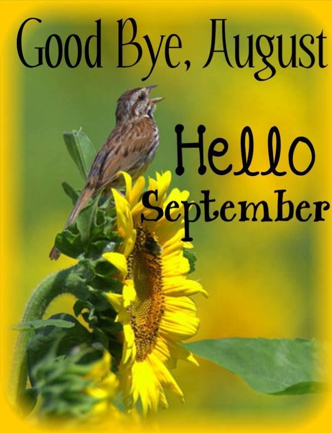 Goodbye August Hello September. Hello September QuotesSeptember BornWelcome  ...