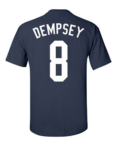 Jacted Up Tees Clint Dempsey USA World Cup Team Front and Back Men's T-Shirt - Small Navy (915) Jacted Up Tees http://www.amazon.com/dp/B00KNFQW3G/ref=cm_sw_r_pi_dp_W3rNvb096BTNZ