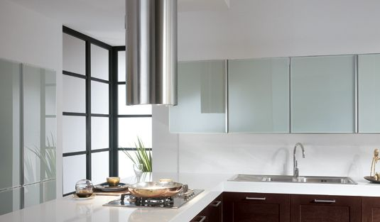 Hoods Modern Range ~ Cylindra isola by faber a stunning island cylinder for