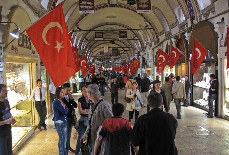 Kapali Carsi - der Große gedeckte Basar in Istanbul.