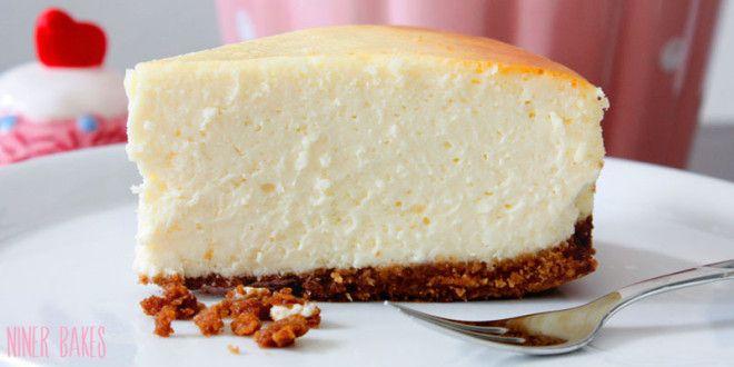 The Best Original New York Style Cheesecake! | niner bakes