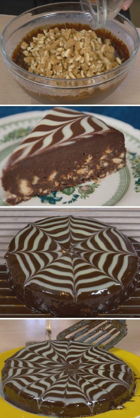 Se me hizo agua la boca de lo deliciosa q se ve la TARTA Principe William, heredero del trono, Una tarta de Chocolate Trufa con Galletas Sin Horno! #tartaprincipewilliam #principewilliam #galletas #sinhorno #cheesecake #trufa #galletasmaria #cakes #cookies #biscuit #original #tips #pan #panfrances #panettone #panes #pantone #pan #receta #recipe #casero #torta #tartas #pastel #nestlecocina #bizcocho #bizcochuelo #tasty #cocina #chocolate Si te gusta dinos HOLA y dale a Me Gusta MIREN …