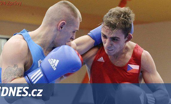 Boxer Agateljan v Ústí vítězství nezopakoval, ve finále prohrál i Kotrč