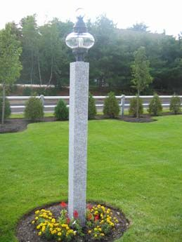 56 Best Granite Lamp Posts Mailbox Posts And Fence Posts