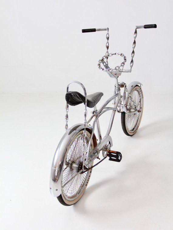 *New GOLD CHAIN Lowrider Bike Steering Wheel Classic Bicycle Beach Cruiser