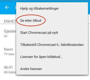 Slik finner du de hemmelige Chromecast-tilbudene - Dinside