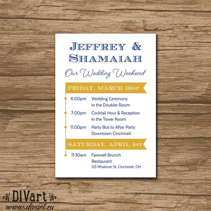 best home printer for printing wedding invitations%0A This listing is for a Wedding Weekend Timeline  Wedding Itinerary   Bacherolette Weekend Itinerary to print at home or through a professional  printer