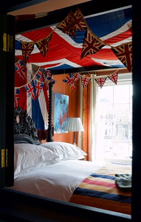 The Zetter Townhouse, London: Townhouse Bedroom, Bedroom Inspiration, London Unionjack, London Calling, Jack O'Connell, Union Jack