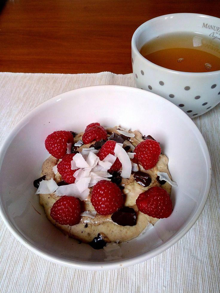 Energy high protein vanilla porridge Simply & Healthy