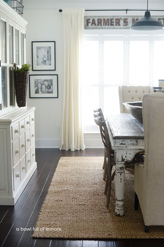 17 Best ideas about Dining Room Rugs on Pinterest Farmhouse rugs