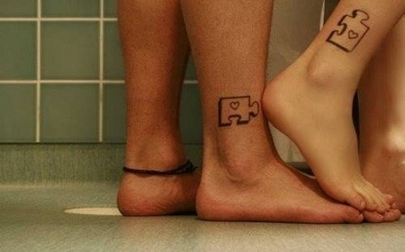 Tatuajes para parejas con significado8.jpg: Couples Tattoo, Tattoo Ideas, Puzzles, Tattoo'S, Matching Tattoos, Puzzle Pieces, Couple Tattoos, Tatoo, Ink