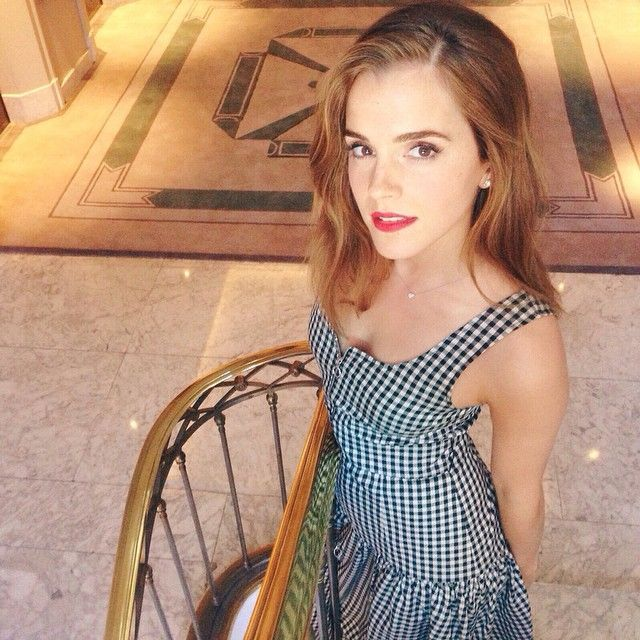 """Emma Watson at the premiere of his latest film """"Regression"""" - Press Junket - August 29, 2015"""