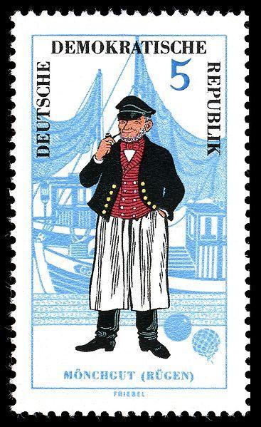 Stamps of Germany (DDR) 1964 #Ruegen #Moenchgut #Vorpommern
