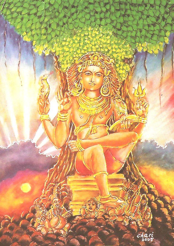 Risultati immagini per shiva dakshinamurti