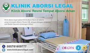Klinik aborsi menggugurkan kandungan Legal di Jakarta yang bertanggung jawab penuh dalam tindakan dan pelayanan terbaik bagi pasien. Ditangani Oleh 2 Dokter SpOG serta 4 Team Medis bersertifikat, profesional dan berpengalaman dalam bidang tindakan Aborsi / kuret serta menjamin legalitas serta keberhasilannya